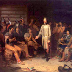 Washington and the Indians, 1847