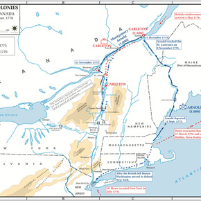 The Invasion of Canada, Sep-1775—Oct-1776