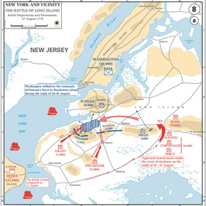 The Battle of Long Island, 27-Aug-1776
