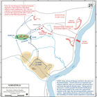 Second Saratoga, Initial Dispositions and Movements, 7-Oct-1777
