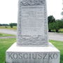 Saratoga National Historical Park — Kosciuszko Monument