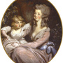 Mrs. Benedict Arnold and Daughter, c. 1783—89