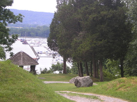 Stony Point Battlefield, View of the Hudson River
