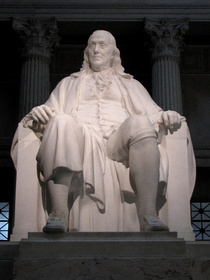 Benjamin Franklin National Memorial, 1938