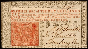Eighteen Pence, 1776