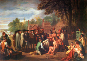 Penn's Treaty with the Indians, 1771—72