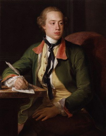 Frederick North, 2nd Earl of Guilford, 1753