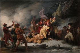 The Death of General Montgomery in the Attack on Quebec, 31 December 1775; 1786