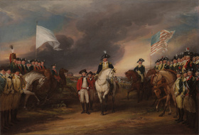 The Surrender of Lord Cornwallis at Yorktown, 19 October 1781; 1787—c. 1828