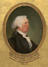 John Rutledge, 1791