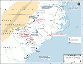 The War in the South, 1781