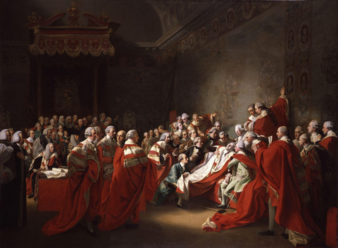 The Death of the Earl of Chatham, 1781