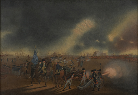 The Battle of Princeton, c. 1782
