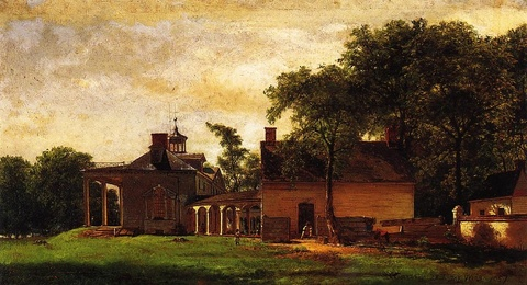The Old Mount Vernon, 1857