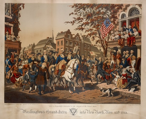 Washington's Grand Entry into New York, 1860