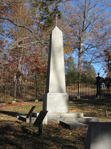 Monticello - Jefferson's Tombstone