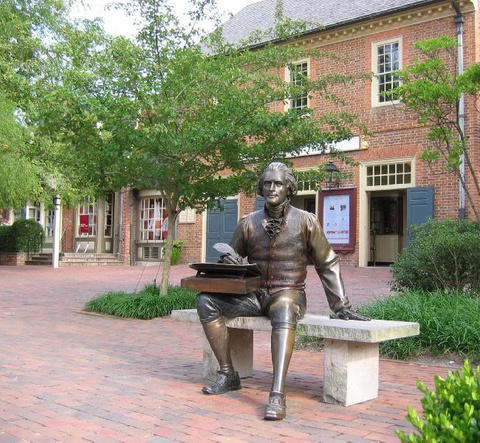 Statue of Patrick Henry