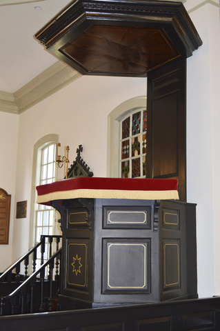 St. John's Church - Original Pulpit