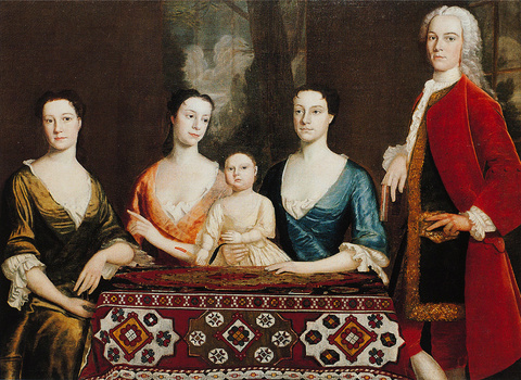 Isaac Royall and His Family, 1741