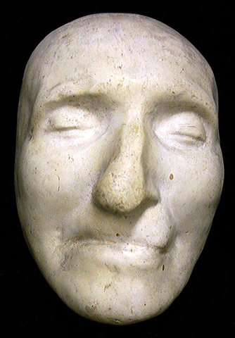 Death Mask of Thomas Paine, 1809