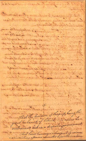 Virginia Declaration of Rights, 1776 - pg. 3