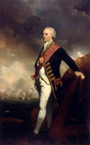 Admiral Lord George Brydges Rodney, 1st Baron Rodney, 1789