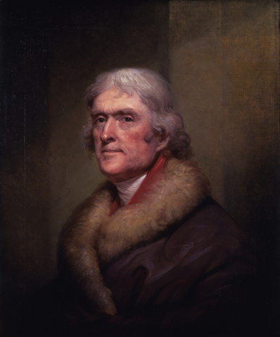 Thomas Jefferson, 1805