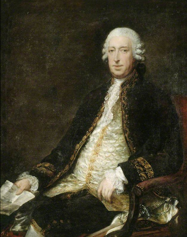 Lord George Sackville, Viscount Sackville, c. 1747—85