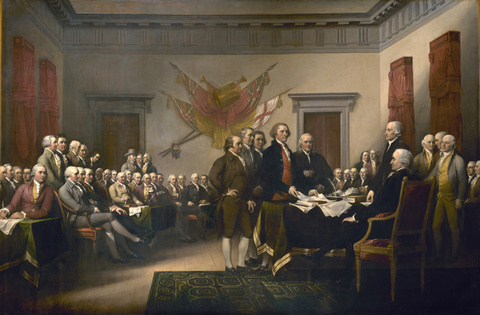 The Declaration of Independence, 1818