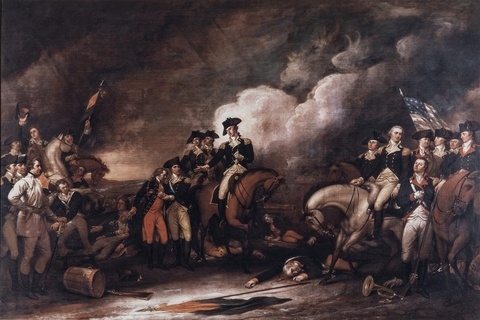 The Capture of the Hessians at Trenton, 26 December 1776; 1831