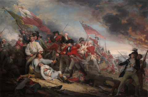 The Death of General Warren at the Battle of Bunker's Hill, 17 June 1775; 1786