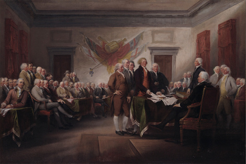The Declaration of Independence, 4 July 1776; 1786—1820