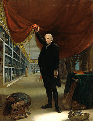 The Artist in His Museum, 1822
