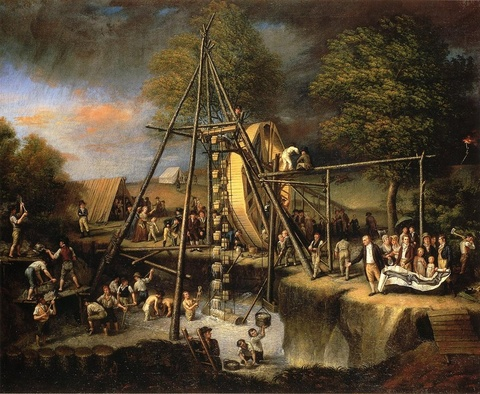 The Exhumation of the Mastodon, 1806—08
