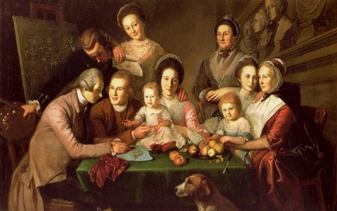 The Peale Family, 1773—1809
