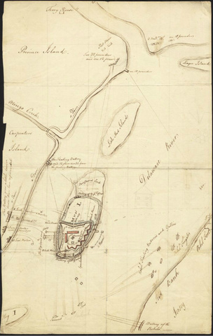 The Siege of Mud Island Fort, 1777