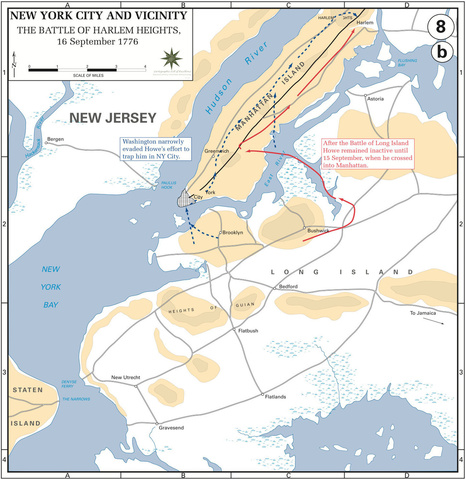 The Battle of Harlem Heights, 16-Sep-1776