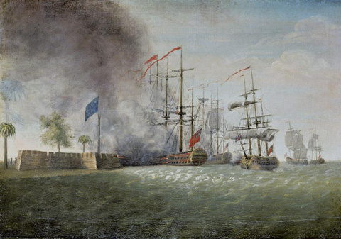 Sir Peter Parker's Attack Against Fort Moultrie, 1782—91
