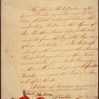 Treaty of Paris, 1783 — last page