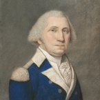 George Washington, c. 1796, by James Sharples