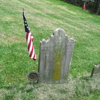 Grave of R.D. Ward Simonson, Continental Army