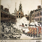 The Fruits of Arbitrary Power, or the Bloody Massacre; 1770