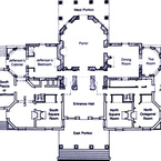 Monticello - Main Floor Plan