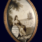 Locket, belonging to Abigail Adams