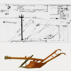 Design for Mold Board Plow, n.d.