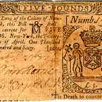 Five Pounds, 1760