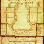 Plan of Mount Vernon, 1787