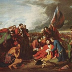 The Death of General Wolf, 1770