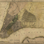 Plan of the City of New York, 1789