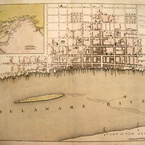 A Plan of the City of Philadelphia the Capital of Pennsylvania, 1776